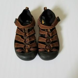 Keen Brown Water Sandals Size 3